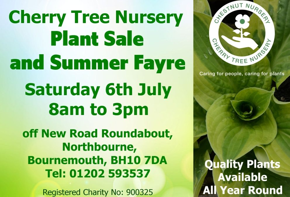 Coming soon … Plant Sale and Summer Fayre…