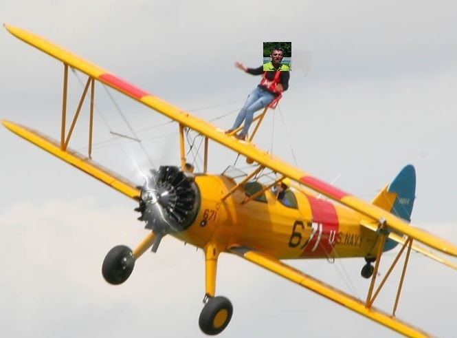 High Anxiety – Wing Walk for Cherry Tree Nursery