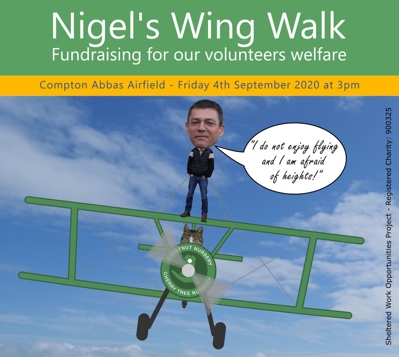 Nigel Wing Walk Fundraiser