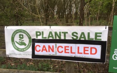 Plant Sale and Autumn Fayre Cancelled