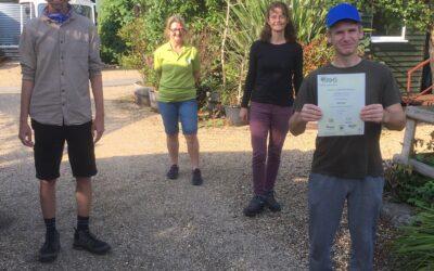 RHS practical award in horticulture level one award presentations begin