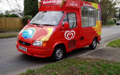 Bank Holiday Weekend –  Rainbow ices available!